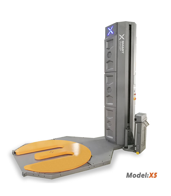 X5 Model Standard E Type Turntable Pallet Wrapping Machine