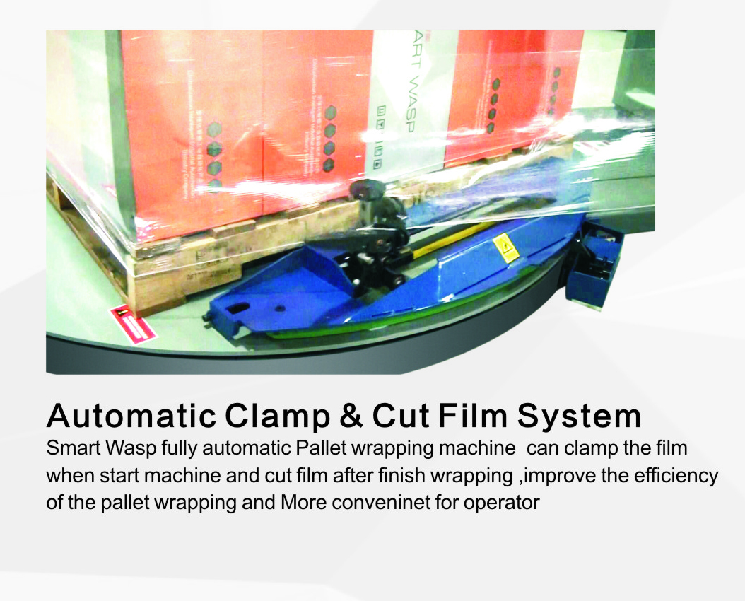 Automatic Cut and Clamp Film