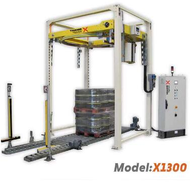 The high speed pallet wrapper is one of our most popular products