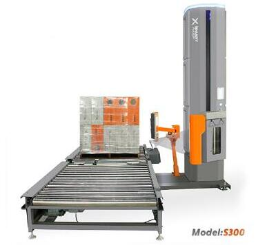 Advantages of Smart Wasp automatic pallet wrapping machines