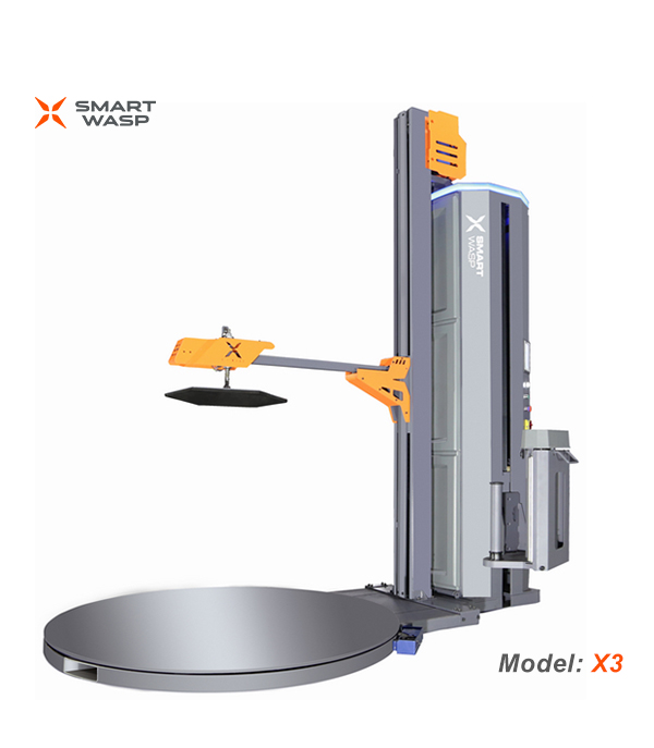 X3 Type Pressure Standard Pallet Wrapping Machine