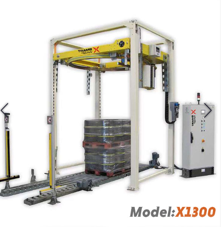Pallet Wrapping Machine With Variable Frequency