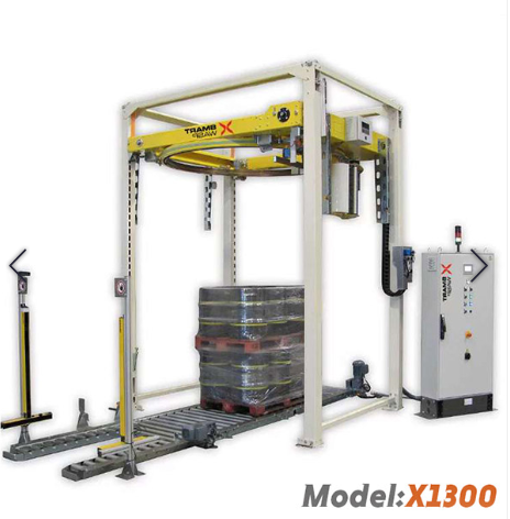 Turntable Pallet Wrapping Machine